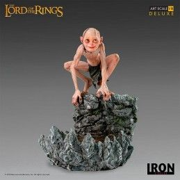 LORD OF THE RINGS GOLLUM DELUXE 1/10 ART STATUE FIGURE IRON STUDIOS