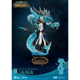 D-STAGE WORLD OF WARCRAFT JAINA 043 STATUE FIGURE DIORAMA BEAST KINGDOM