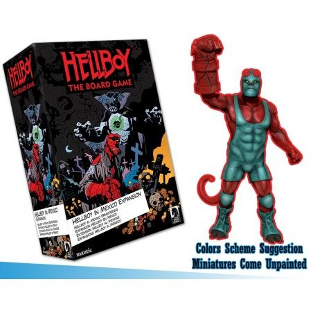 HELLBOY: THE BOARD GAME - HELLBOY IN MEXICO EXPANSION GIOCO DA TAVOLO INGLESE