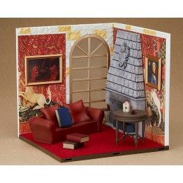 GOOD SMILE COMPANY HARRY POTTER GRYFFINDOR COMMON ROOM NENDOROID SET DIORAMA FOR ACTION FIGURE