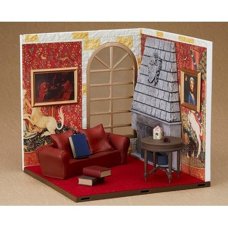HARRY POTTER GRYFFINDOR COMMON ROOM NENDOROID SET DIORAMA FOR ACTION FIGURE