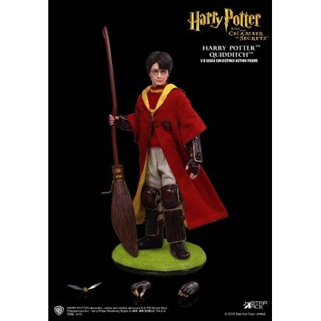HARRY POTTER - HARRY QUIDDITCH 1/6 26CM COLLECTIBLE ACTION FIGURE
