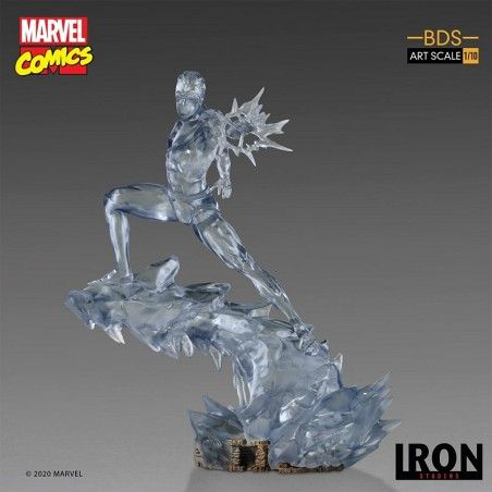 X-MEN - ICEMAN UOMO GHIACCIO BDS ART SCALE 1/10 STATUE 23CM FIGURE