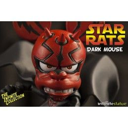 RAT-MAN STAR RATS DARK MOUSE COLLECTION N.4 STATUE LEO ORTOLANI