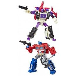 HASBRO TRANSFORMERS GENERATIONS WAR FOR CYBERTRON: SIEGE - OPTIMUS PRIME AND APEFACE 18CM ACTION FIGURE