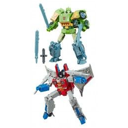 TRANSFORMERS GENERATIONS WAR FOR CYBERTRON: SIEGE - STARSCREAM AND SPRINGER 18CM ACTION FIGURE HASBRO