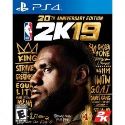 NBA 2K19 20TH ANNIVERSARY...
