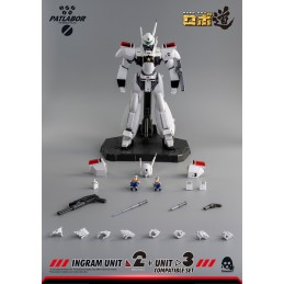 THREEZERO PATLABOR ROBO DOU INGRAM UNIT 2 AND UNIT 3 SET ACTION FIGURE