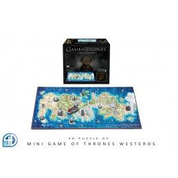 4D CITYSCAPE GAME OF THRONES IL TRONO DI SPADE WESTEROS 4D MINI PUZZLE 25x20CM