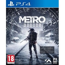 METRO EXODUS PS4 PLAYSTATION 4 NUOVO ITALIANO