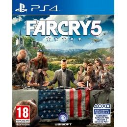 FAR CRY 5 PS4 PLAYSTATION 4 NUOVO ITALIANO