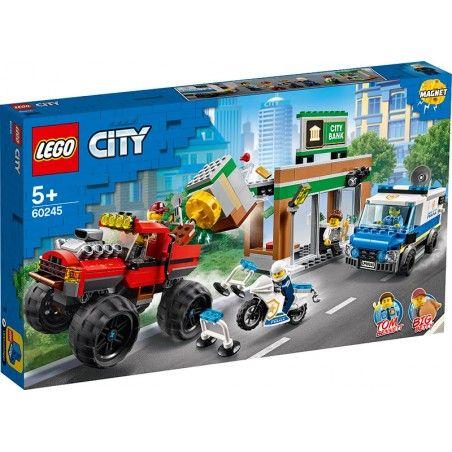 LEGO CITY POLICE RAPINA MONSTERTRUCK 60245