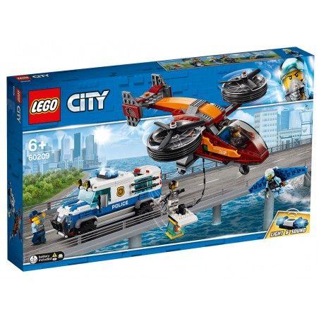 LEGO CITY POLICE FURTO DI DIAMANTI 60209