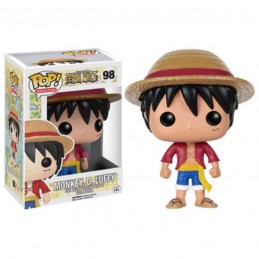 FUNKO POP! ONE PIECE MONKEY D. LUFFY BOBBLE HEAD KNOCKER FIGURE