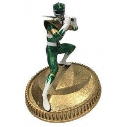 MIGHTY MORPHIN POWER RANGERS - GREEN RANGER 23CM STATUE FIGURE POP CULTURE SHOCK COLLECTIBLES