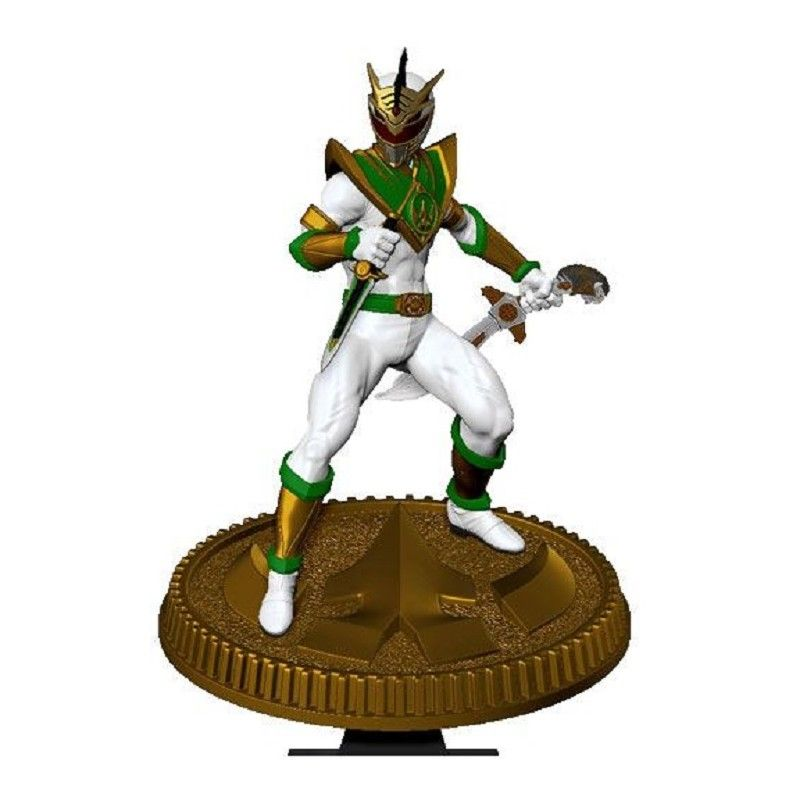 POP CULTURE SHOCK COLLECTIBLES MIGHTY MORPHIN POWER RANGERS - LORD DRAKKON 23CM STATUE FIGURE