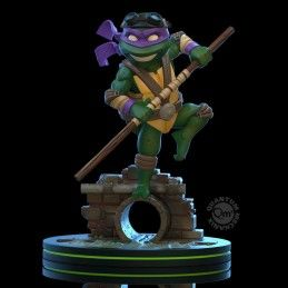 TEENAGE MUTANT NINJA TURTLES Q-FIG DIORAMA DONATELLO 13 CM STATUE FIGURE QUANTUM MECHANIX