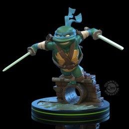 TEENAGE MUTANT NINJA TURTLES Q-FIG DIORAMA LEONARDO 13 CM STATUE FIGURE QUANTUM MECHANIX