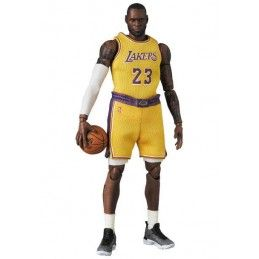 MEDICOM TOY NBA LEBRON JAMES (LA LAKERS) 18CM MAF EX ACTION FIGURE