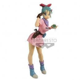 DRAGON BALL GLITTER AND GLAMOURS - BULMA III VER. A PVC STATUE 25CM FIGURE BANPRESTO