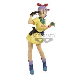 BANPRESTO DRAGON BALL GLITTER AND GLAMOURS - BULMA III VER. B PVC STATUE 25CM FIGURE