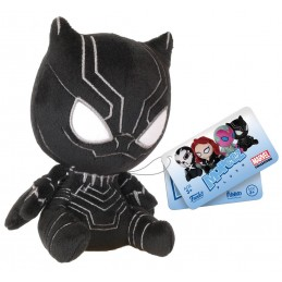 CAPTAIN AMERICA CIVIL WAR - PUPAZZO PELUCHE BLACK PANTHER 13CM PLUSH FIGURE FUNKO