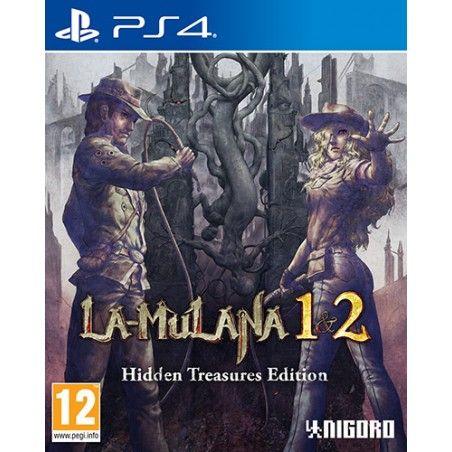 LA-MULANA 1 AND 2 HIDDEN TREASURE EDITION PS4 PLAYSTATION 4 NUOVO ITALIANO