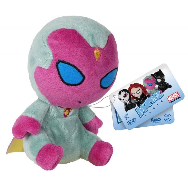 CAPTAIN AMERICA CIVIL WAR - PUPAZZO PELUCHE VISION 13CM PLUSH FIGURE FUNKO