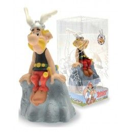 ASTERIX - ON THE ROCK COIN BANK SALVADANAIO PLASTOY