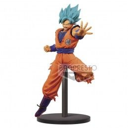 DRAGON BALL SUPER CHOSENSHIRETSUDEN - SUPER SAIYAN GOD SON GOKU 16CM STATUE FIGURE BANPRESTO