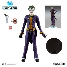 DC MULTIVERSE BATMAN ARKHAM ASYLUM - THE JOKER 18CM ACTION FIGURE MC FARLANE
