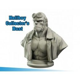 MANTIC HELLBOY COLLECTOR'S BUST LIMITED EDITION STATUE FIGURE