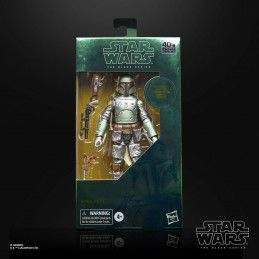 STAR WARS THE BLACK SERIES CARBONIZED - BOBA FETT EPISODE V ACTION FIGURE HASBRO