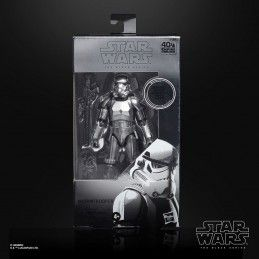 STAR WARS THE BLACK SERIES CARBONIZED - STORMTROOPER EPISODE V ACTION FIGURE HASBRO