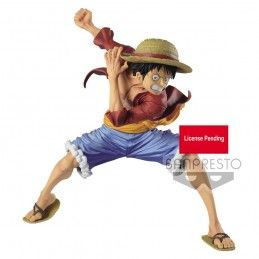 BANPRESTO ONE PIECE MAXIMATIC - MONKEY D. LUFFY 17CM STATUE FIGURE
