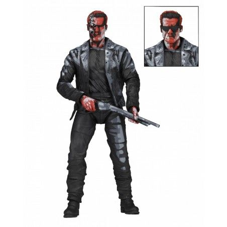 TERMINATOR 2 T-800 VIDEO GAME VERSION ACTION FIGURE