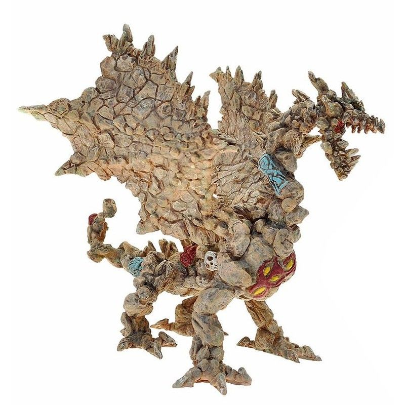 PLASTOY DRAGONS SERIES - STONE DRAGON ACTION FIGURE