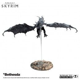 THE ELDER SCROLLS V SKYRIM ALDUIN DELUXE ACTION FIGURE MC FARLANE