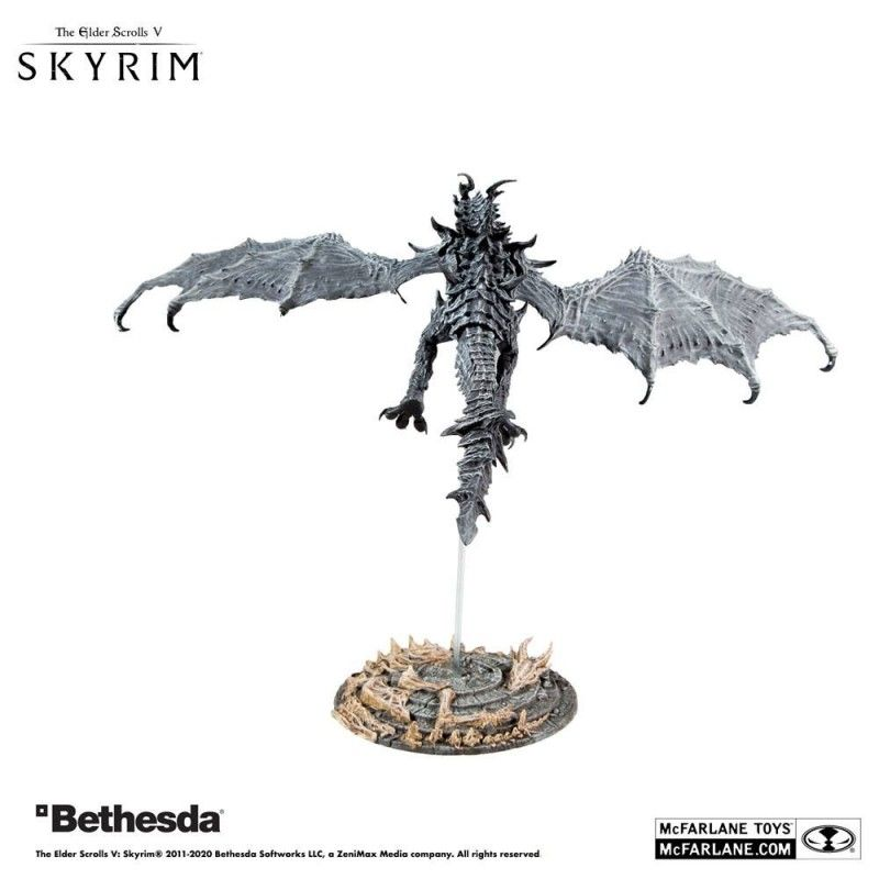 MC FARLANE THE ELDER SCROLLS V SKYRIM ALDUIN DELUXE ACTION FIGURE