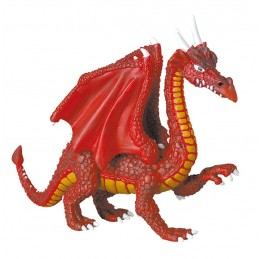 DRAGONS SERIES - RED DRAGON ACTION FIGURE PLASTOY