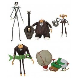 DIAMOND SELECT NIGHTMARE BEFORE CHRISTMAS SERIES 9 SET ACTION FIGURE