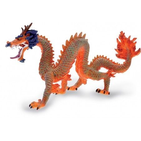 DRAGONS SERIES - RED CHINESE DRAGON ACTION FIGURE