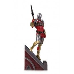 DC COLLECTIBLES DC GALLERY COMIC BATMAN ROGUES GALLERY MULTI PART COLL. DEADSHOT STATUE