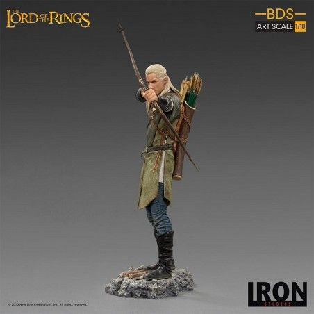 THE LORD OF THE RINGS - LEGOLAS BDS ART SCALE 1/10 STATUE 31CM FIGURE