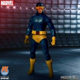 MEZCO TOYS X-MEN - CLASSIC CYCLOPS CICLOPE ONE:12 COLLECTIVE ACTION FIGURE