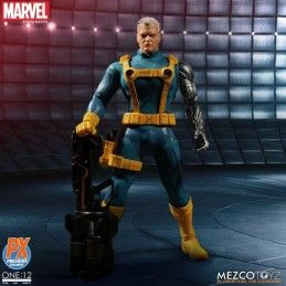 MEZCO TOYS X-MEN - CABLE ONE:12 COLLECTIVE ACTION FIGURE