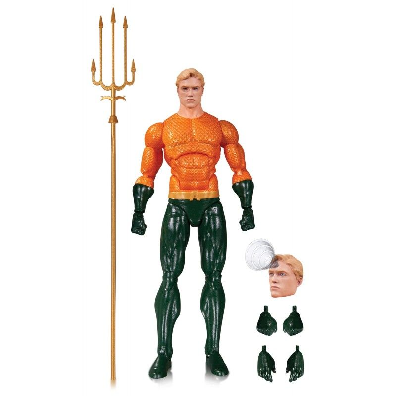 DC COMICS ICONS - AQUAMAN ACTION FIGURE DC COLLECTIBLES