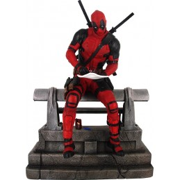 MARVEL PREMIER COLLECTION DEADPOOL THE MOVIE 25CM FIGURE RESIN STATUE DIAMOND SELECT