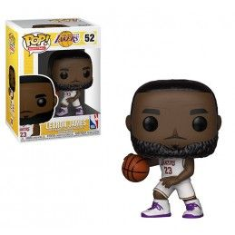 FUNKO POP! NBA - LEBRON JAMES LOS ANGELES LAKERS BOBBLE HEAD KNOCKER FIGURE FUNKO