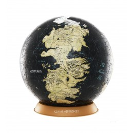 4D CITYSCAPE GAME OF THRONES IL TRONO DI SPADE UNKNOWN WORLD GLOBE 3D PUZZLE 240 PCS 15CM
